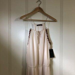 Boho-chic Beaded Maxi Dress